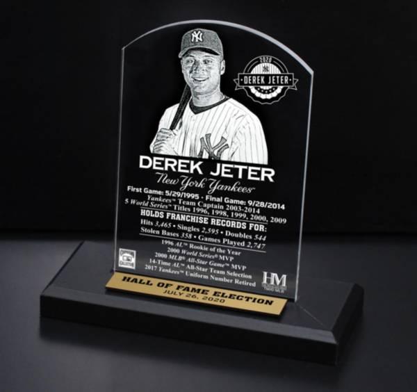 Highland Mint New York Yankees Derek Jeter Hall of Fame 2020  Etch Plaque product image