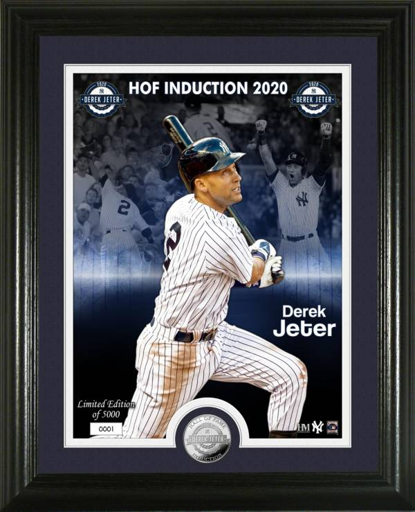 Highland Mint New York Yankees Derek Jeter Hall of Fame 2020 Silver Coin Photo Mint product image