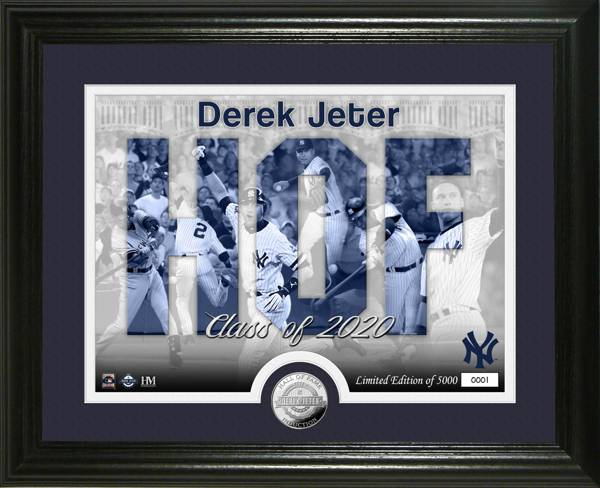 Highland Mint New York Yankees Silhoutte Silver Coin Photo Mint product image