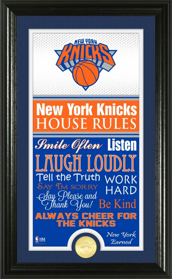 Highland Mint New York Knicks House Rules Bronze Coin Photo Mint product image