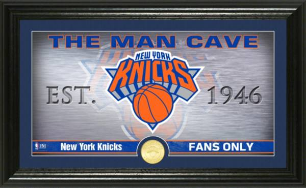 Highland Mint New York Knicks Man Cave Panoramic Bronze Coin Photo Mint product image