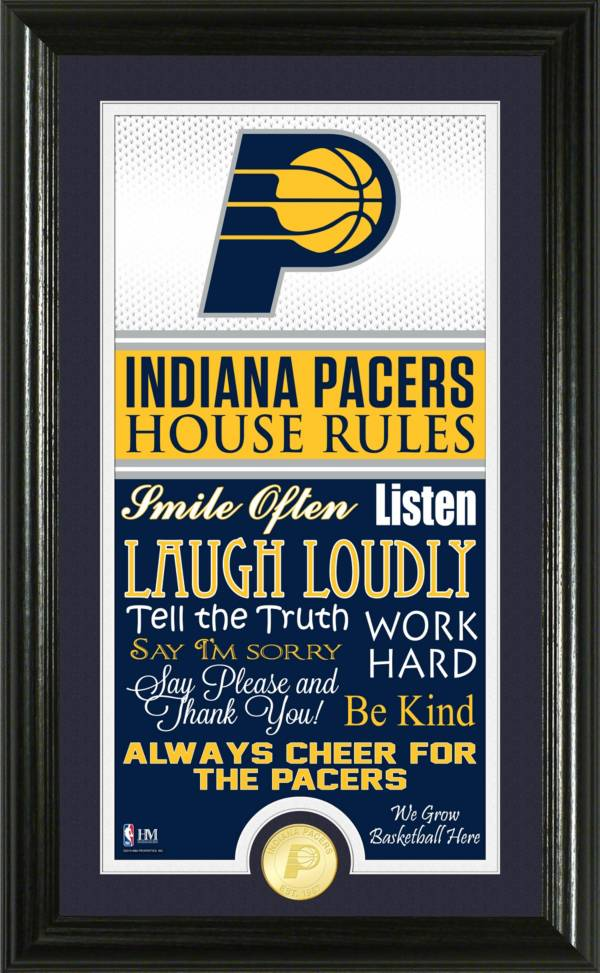 Highland Mint Indiana Pacers House Rules Bronze Coin Photo Mint product image