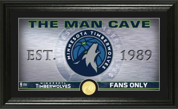 Highland Mint Minnesota Timberwolves Man Cave Panoramic Bronze Coin Photo Mint product image