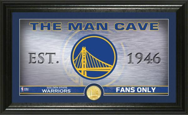 Highland Mint Golden State Warriors Man Cave Panoramic Bronze Coin Photo Mint product image