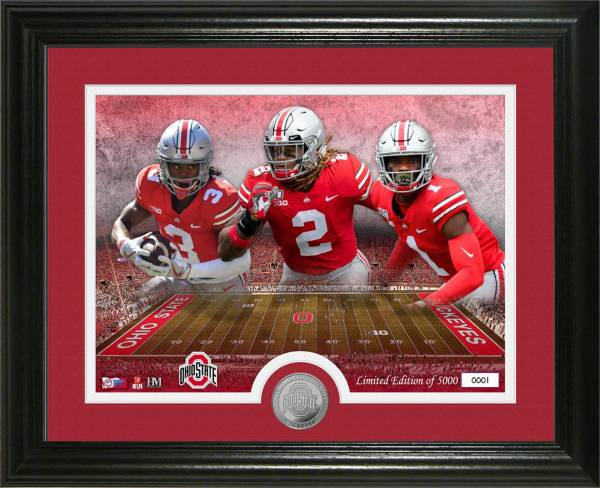 Highland Mint Ohio State Buckeyes 2020 1st Rounders Bronze Coin Photo Mint product image