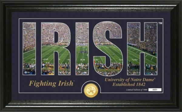 Highland Notre Dame Fighting Irish Silhouette Photo product image