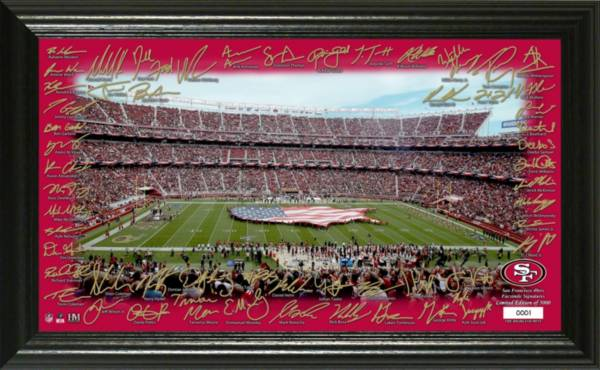 Highland Mint San Francisco 49ers 2020 Signature Gridiron Collection product image