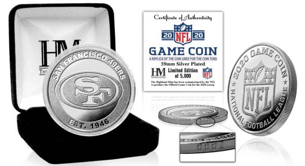 Highland Mint San Francisco 49ers 2020 Flip Coin product image