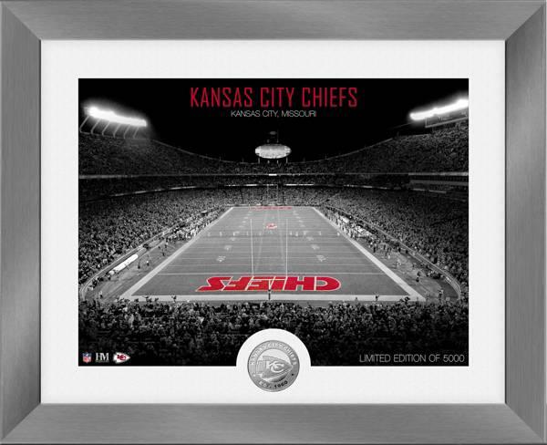 Highland Mint Kansas City Chiefs Art Deco Stadium Silver Coin Photo Mint product image