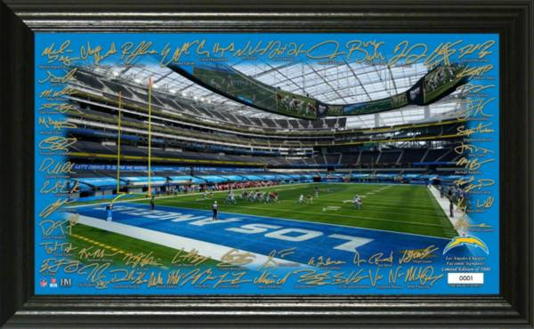Highland Mint Los Angeles Chargers 2020 Signature Gridiron Collection product image