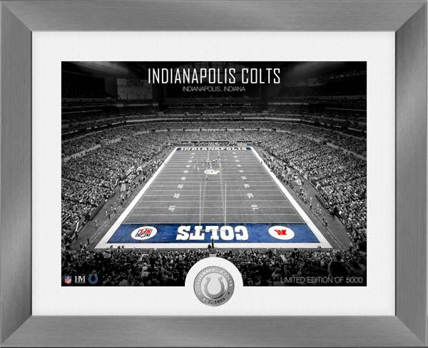 Highland Mint Indianapolis Colts Art Deco Stadium Silver Coin Photo Mint product image