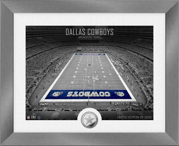 Highland Mint Dallas Cowboys Art Deco Stadium Silver Coin Photo Mint product image