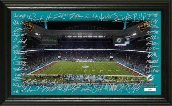 Highland Mint Miami Dolphins 2020 Signature Gridiron Collection product image