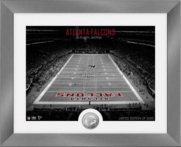 Highland Mint Atlanta Falcons Art Deco Stadium Silver Coin Photo Mint product image