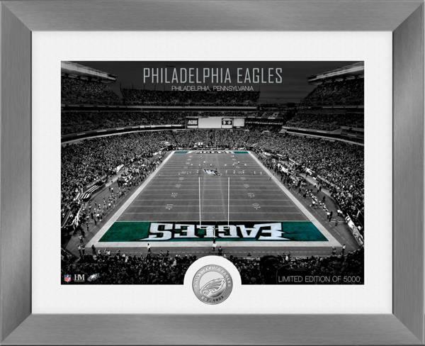 Highland Mint Philadelphia Eagles Art Deco Stadium Silver Coin Photo Mint product image