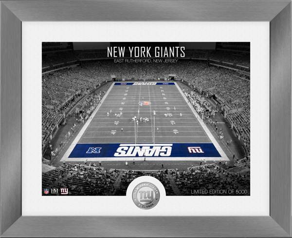 Highland Mint New York Giants Art Deco Stadium Silver Coin Photo Mint product image
