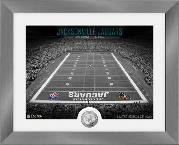 Highland Mint Jacksonville Jaguars Art Deco Stadium Silver Coin Photo Mint product image