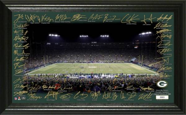 Highland Mint Green Bay Packers 2020 Signature Gridiron Collection product image