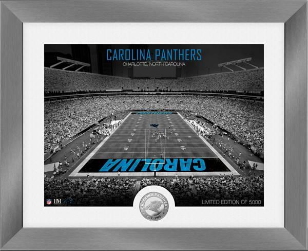 Highland Mint Carolina Panthers Art Deco Stadium Silver Coin Photo Mint product image