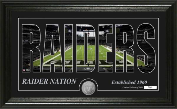 Highland Mint Oakland Raiders Silhouette Coin Photo Mint product image