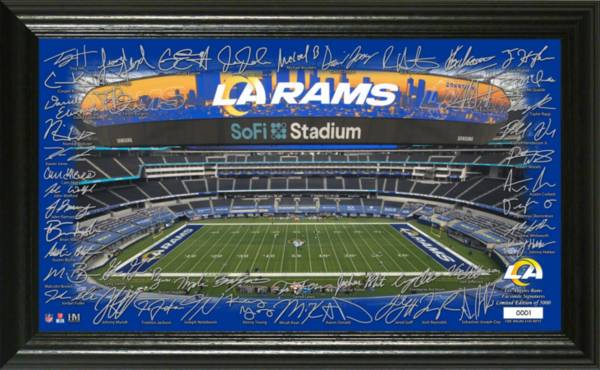 Highland Mint Los Angeles Rams 2020 Signature Gridiron Collection product image