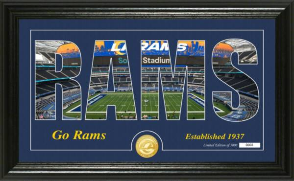 Highland Mint Los Angeles Rams Silhouette Coin Photo Mint product image