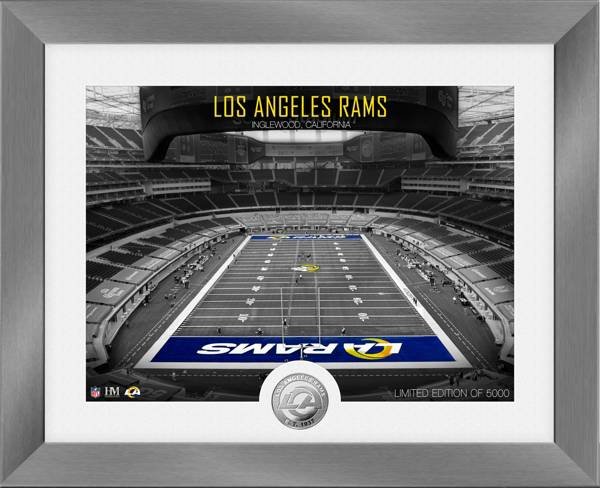 Highland Mint Los Angeles Rams Art Deco Stadium Silver Coin Photo Mint product image