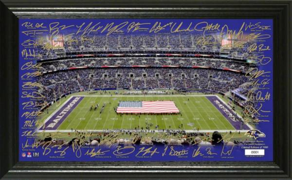Highland Mint Baltimore Ravens 2020 Signature Gridiron Collection product image