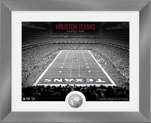 Highland Mint Houston Texans Art Deco Stadium Silver Coin Photo Mint product image