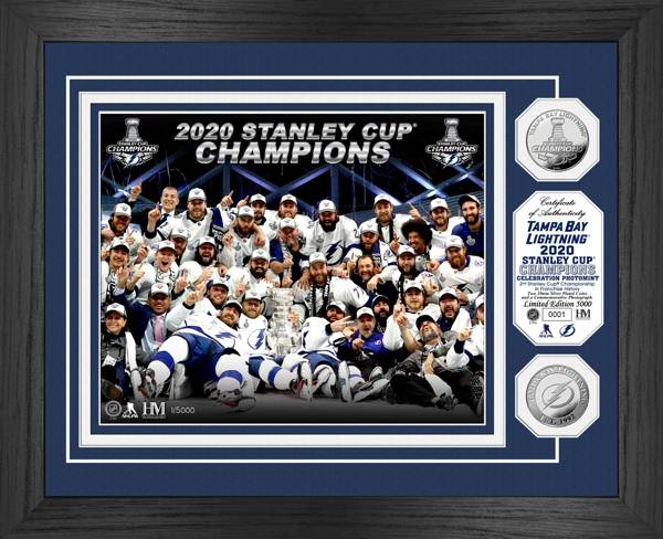 Highland Mint 2020 Stanley Cup Tampa Bay Lightning Celebration Silver Coin Photo Mint product image
