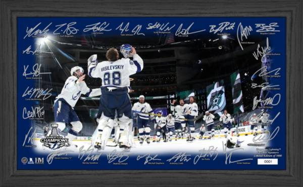 Highland Mint 2020 Stanley Cup Champions Tampa Bay Lightning Celebration Signature Rink product image