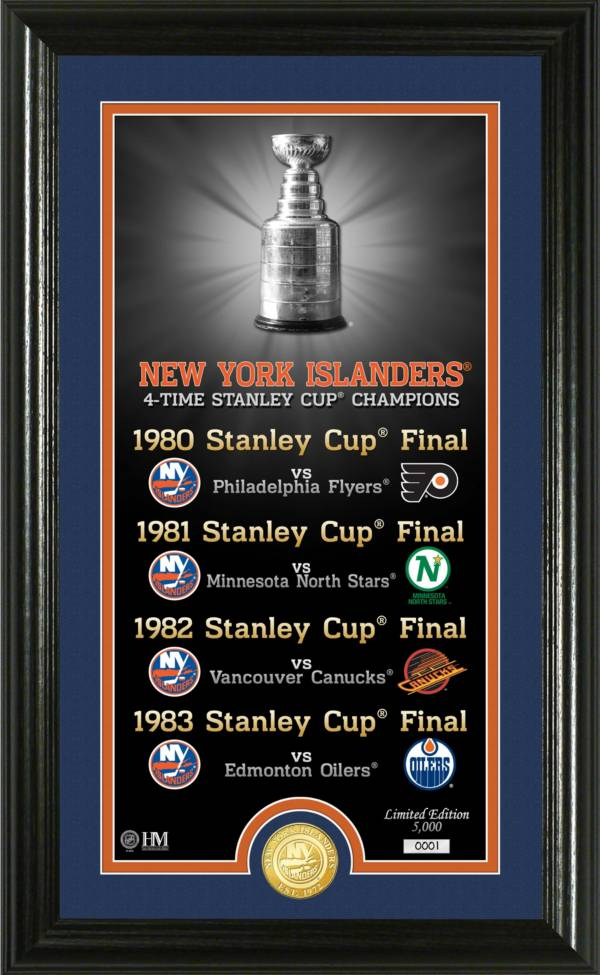 Highland Mint New York Islanders Legacy Supreme Bronze Coin Photo Mint product image