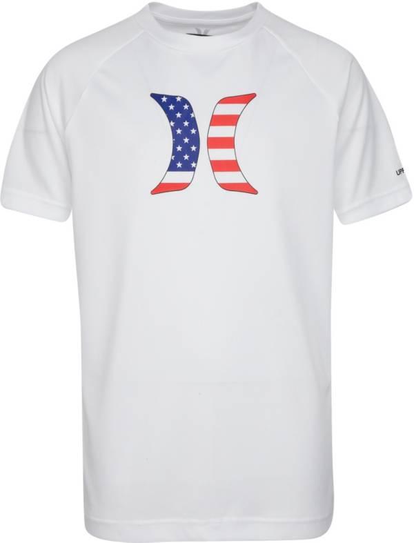 Hurley Boys' Icon Flag UPF Short Sleeve T-Shirt product image