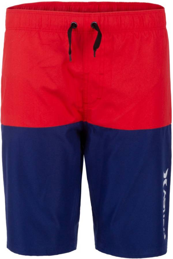Hurley Boys' Double Color Pull On Swim Trunks product image