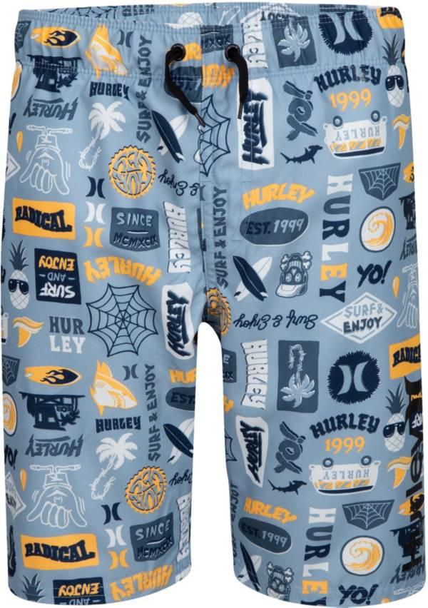 Hurley Boys' Sticker Pull On Swim Trunks product image