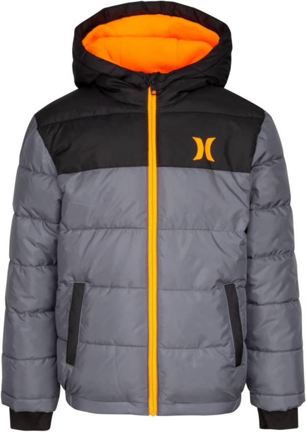 Hurley Boys' Summit Full-Zip Puffer Jacket product image