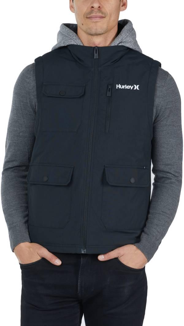 Hurley Men's Collin Full-Zip Hooded Vest product image