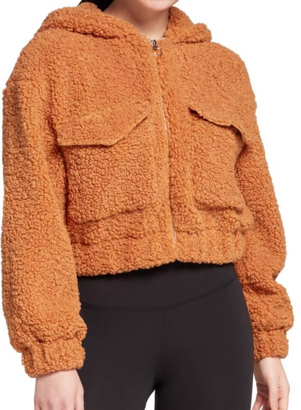 Hurley Women's Front Zip Babo Fur Bomber Jacket product image