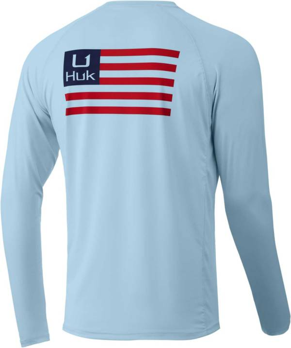HUK Men's Huk'd Up Flag Pursuit Long Sleeve Graphic T-Shirt product image