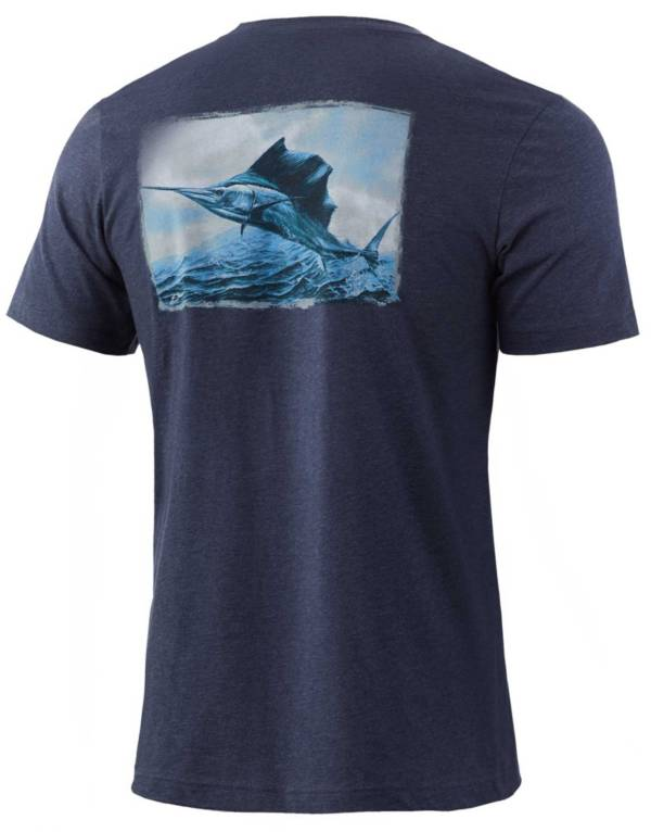HUK Men's KC Passing Front Graphic T-Shirt product image