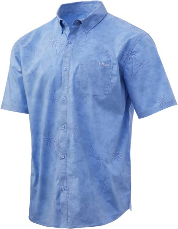 Huk Men's Kona Woven Short Sleeve Button Down Shirt product image