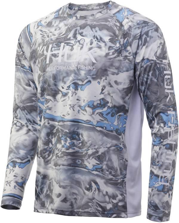 Huk Men's Mossy Oak Pursuit Long Sleeve Fishing Shirt product image