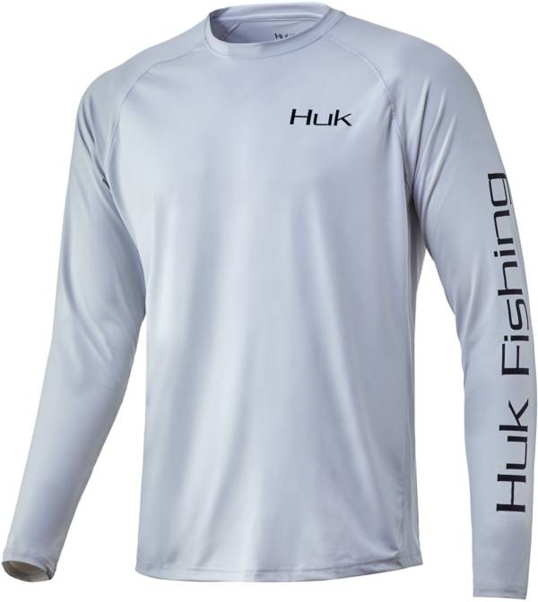 Huk Men's Tuna Badge Pursuit Long Sleeve Fishing Shirt product image