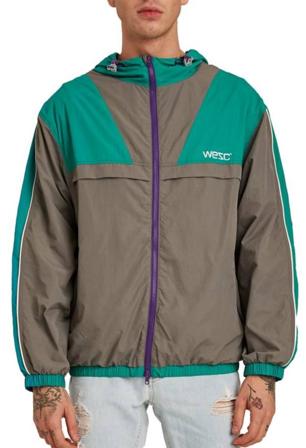 WeSC Men's Athletic Blocked Windbreaker Jacket product image