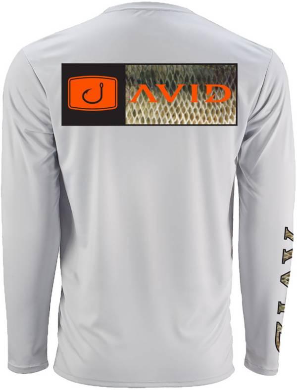 AVID Men's Bar Logo Bass Fill AVIDry Long Sleeve Performance Shirt product image