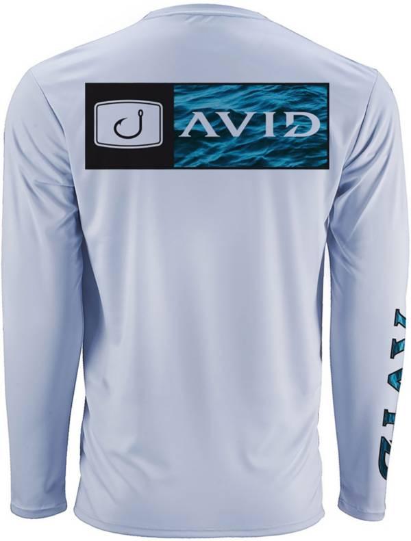 AVID Men's Bar Logo Water Camo AVIDry Long Sleeve Performance Shirt product image