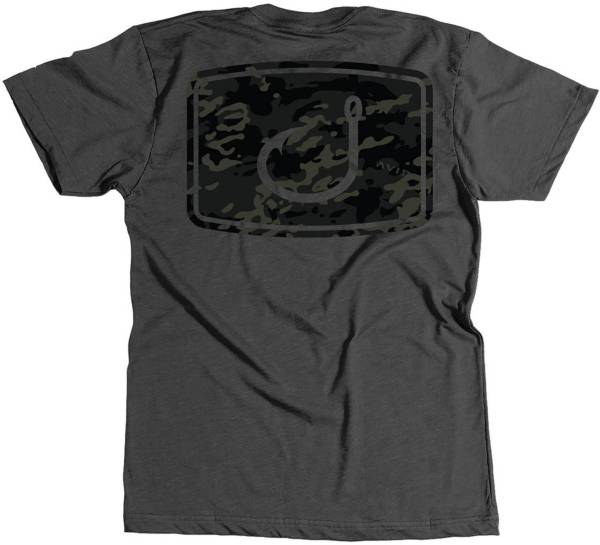 AVID Men's Iconic Black Camo T-Shirt product image