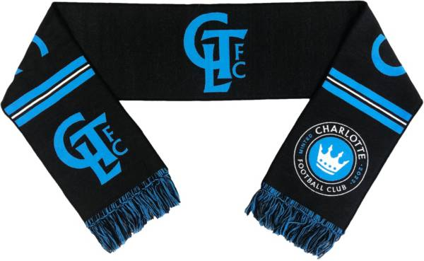 Ruffneck Scarves Charlotte FC Secondary Black Scarf product image