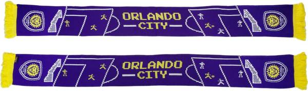 Ruffneck Scarves Orlando City 8-Bit Scarf product image