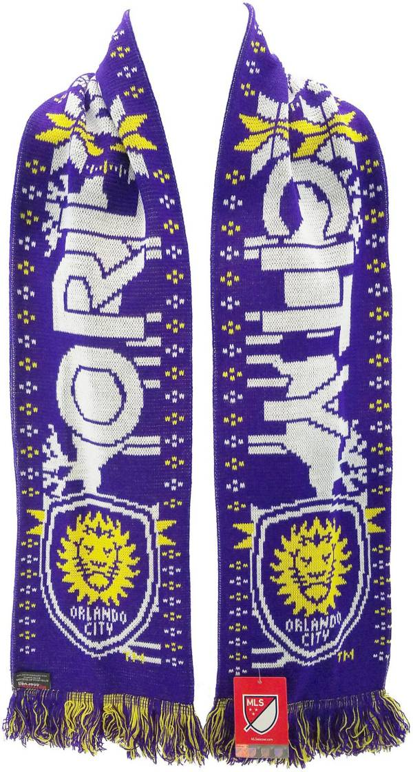 Ruffneck Scarves Orlando City Ugly Sweater Scarf product image